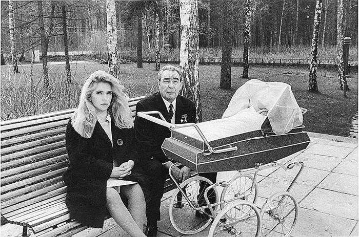 Леонид и Вера Брежневы, 1970 г.