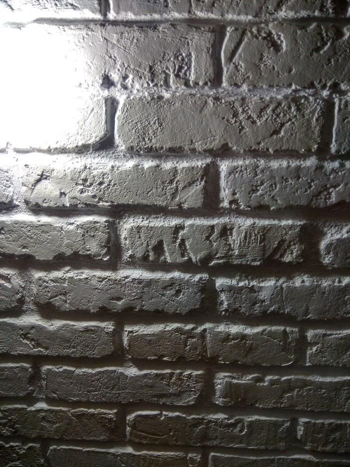 Декор стен. Кирпичная кладка Ремонт, Ремонт квартир, Кирпичи, Лофт, Своими руками, Декоративная штукатурка, Стена, Откладываю кирпичи, Длиннопост