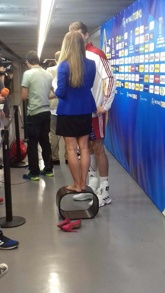 Интервью с волейболистом