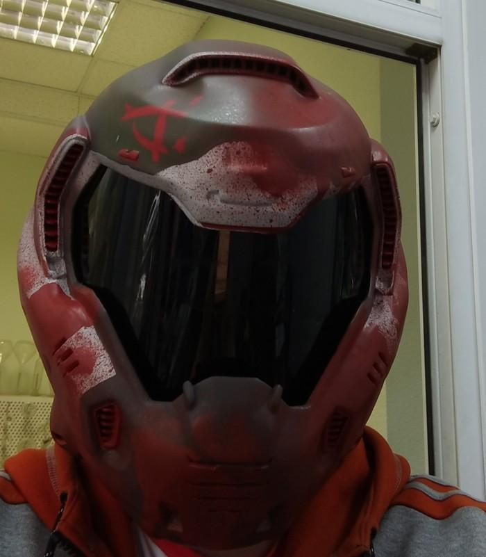 Шлем думгая. Doom, Bethesda, Idsoftware, Рукожоп