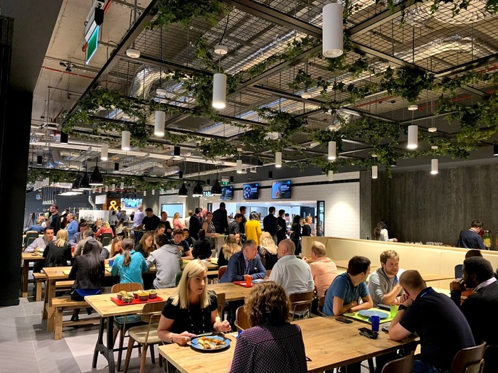 Про еду в офисе Microsoft Ireland Работа, Офис, Microsoft, Ирландия, Дублин, Офисы Компаний, Еда, Столовая, Длиннопост