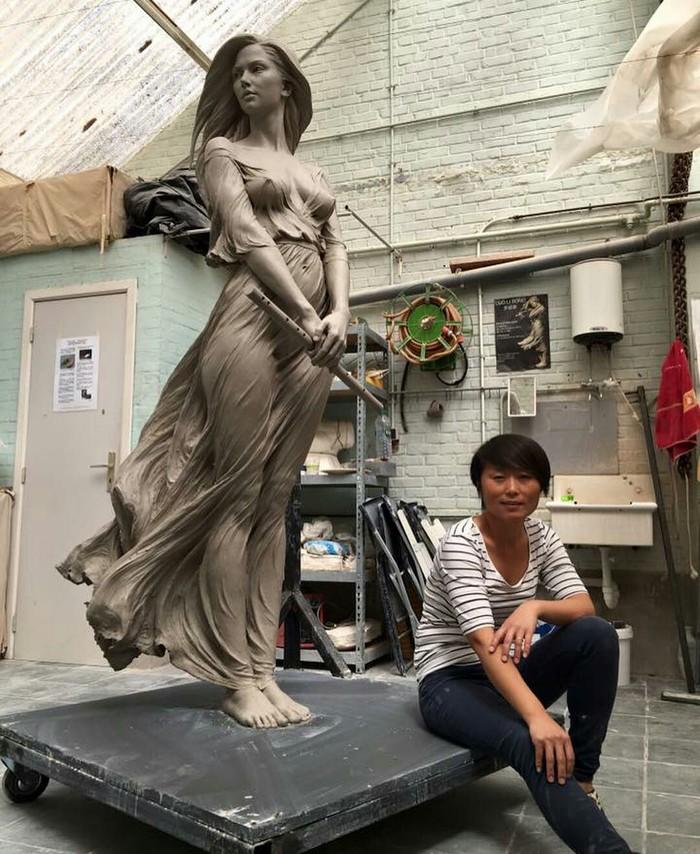 Мастерство! Фотография, Арт, Талант, Мастер, Девушки, Красивая девушка, Искусство, Длиннопост, Скульптура