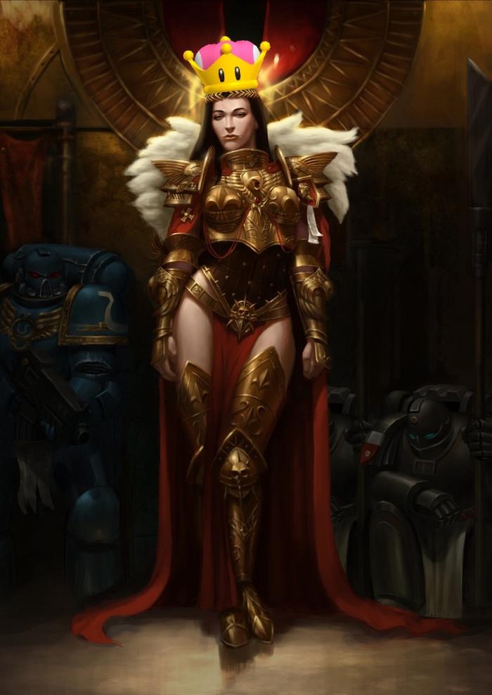Хайпанём ереси Warhammer 40k, Warhammer, Бог-Император, Императрица, Ересь, Wh r63, Длиннопост