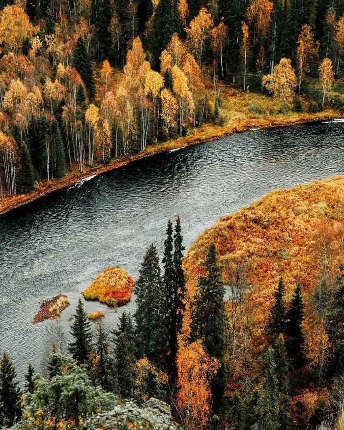 Осень в Финляндии.