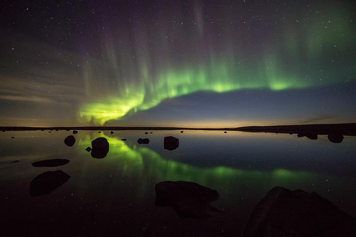 Кольский полуостров, сентябрь-октябрь 2018 Пейзаж, Природа, Северное сияние, Кольский полуостров, Длиннопост