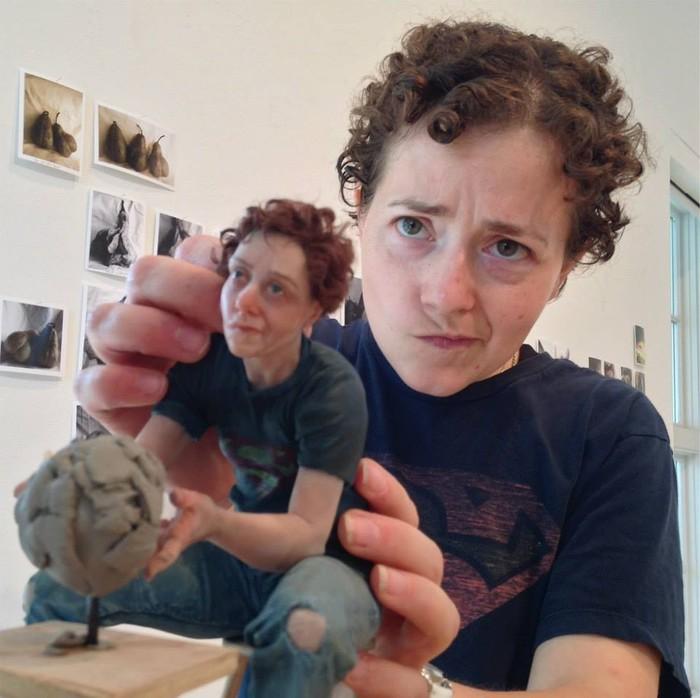 Amanda Klish . Автопортрет Автопортрет, Скульптура, Искусство, Длиннопост