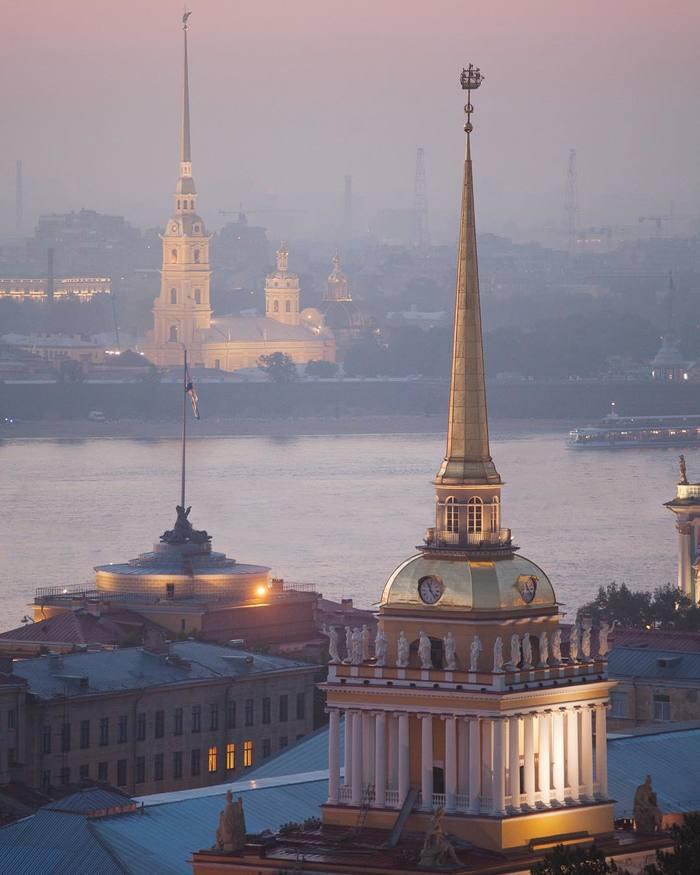 Петербург на рассвете