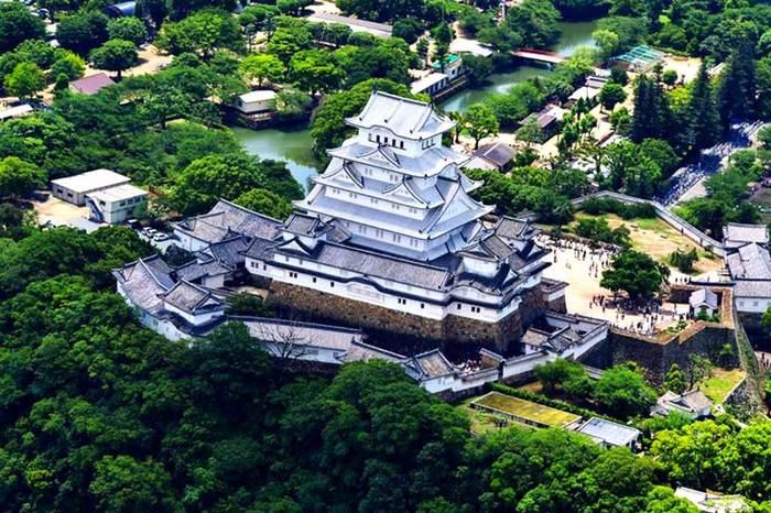 Замок Белой цапли. Япония, Японские замки, Химэдзи, Замки, Фортификация, Длиннопост
