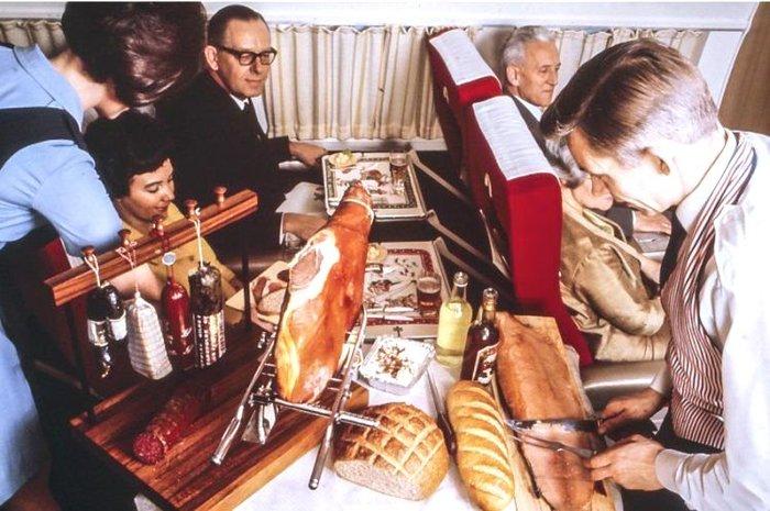 Так кормили в самолёте Самолет, Еда