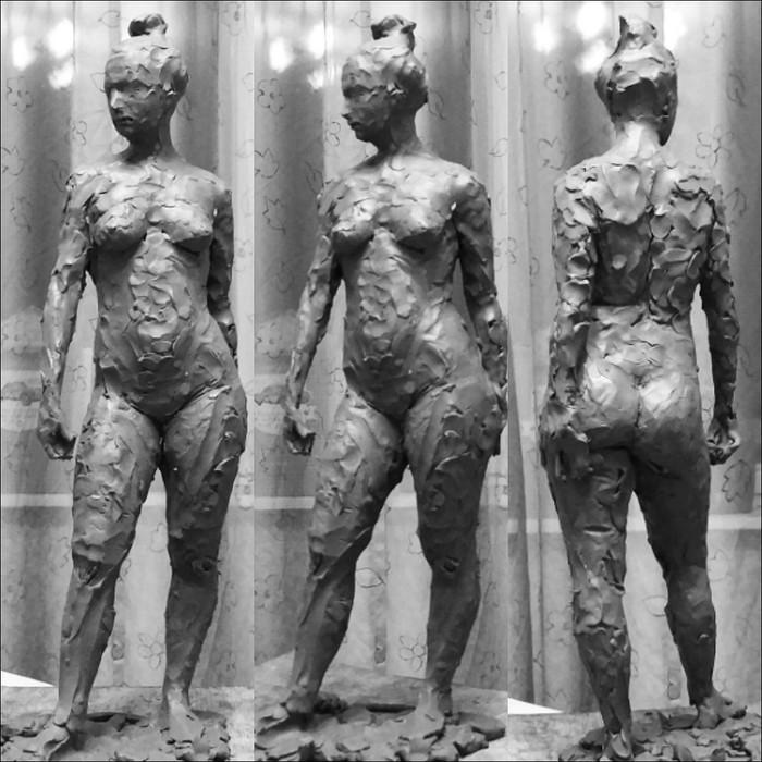 Этюд с натуры Скульптура, Лепка