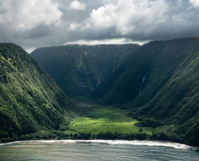 Долина Вайману, Гавайи