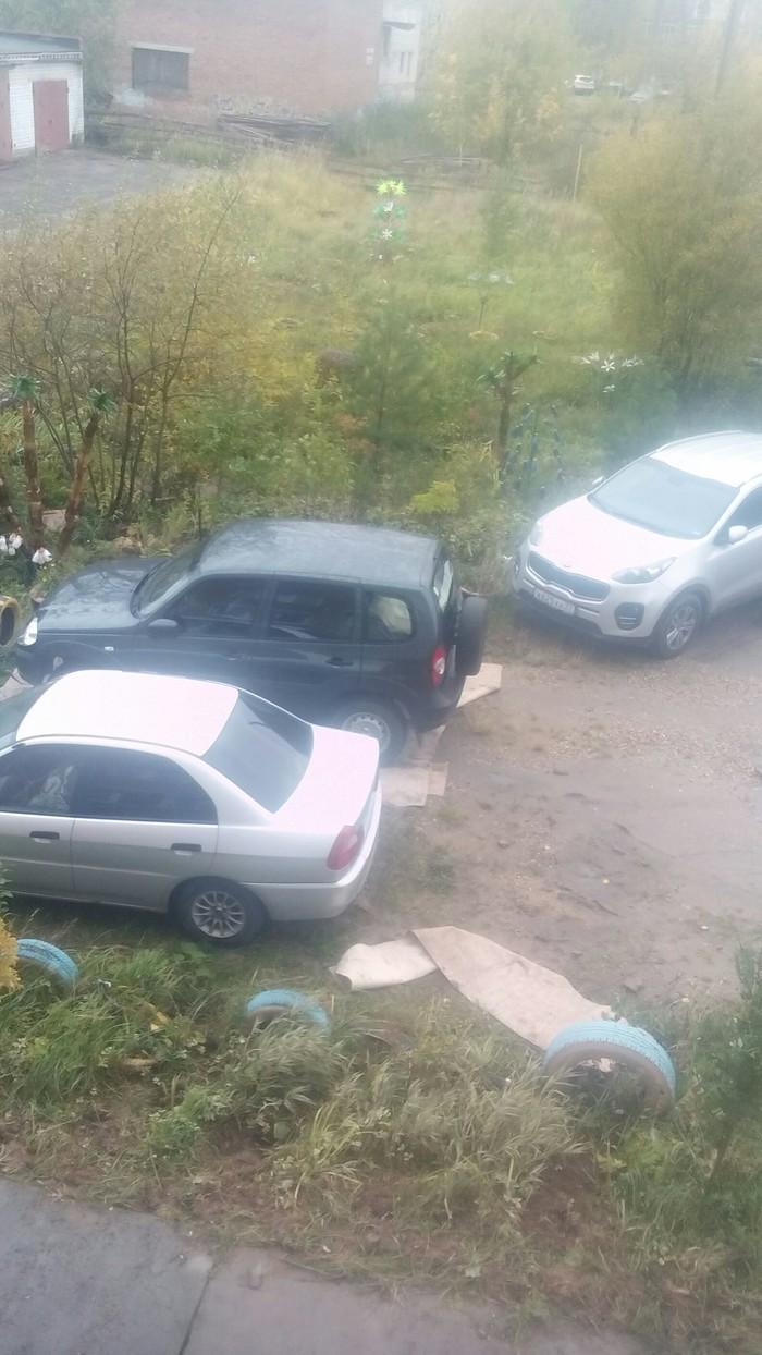 Это конечно не ковёр, но... Авто, Парковка, Иваново, Длиннопост