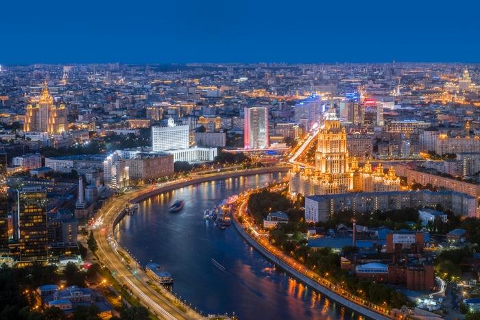 День и ночь Москва, Ночь, День, Фотография