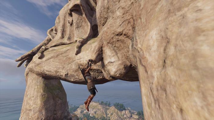 А тем временем на Кефалинии... Assassins Creed Odyssey, Кассандра, Скриншот, Сильная независимая женщина, Assassins creed