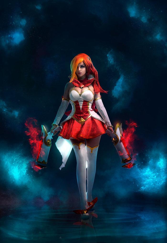 Miss Fortune Star Guardian! Miss Fortune, League of Legends, Игры, Косплей, Disharmonica, Красивая девушка, Akunohako, Длиннопост