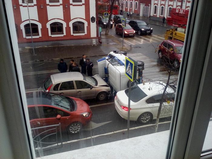 Виноват водитель Калины... ДТП, Полиция, ППС, Казань, КАИ