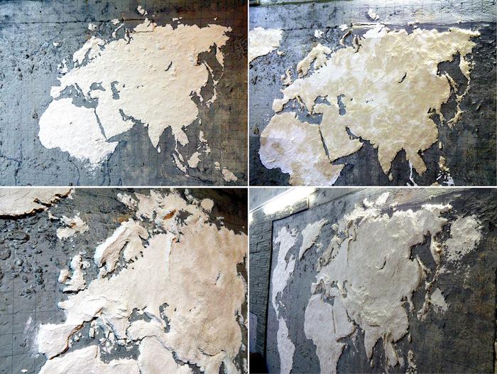 Декоративная карта на стену своими руками. Своими руками, Рукодельники, Копипаста, Карты, Изготовление, Самоделки, Рукоделие, Длиннопост