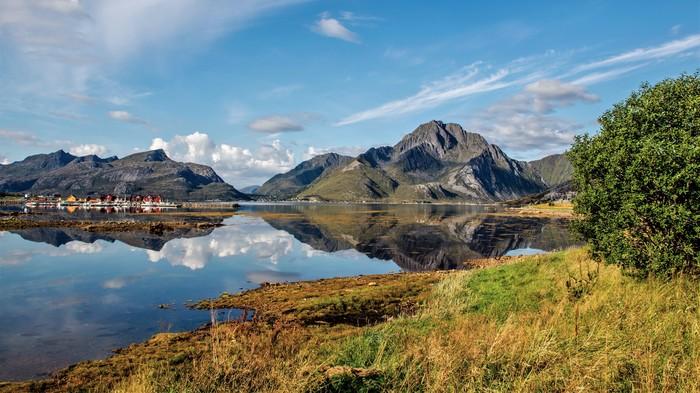 Лофотенский архипелаг, Норвегия. Норвегия, Рейне, Круиз, Лофотенский архипелаг, Фьорды, Длиннопост