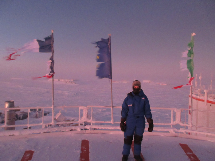-60°C, Еще фоточки с Антарктики. Холод, Макароны, Конкордия, Спагетти, Фотография, Антарктида