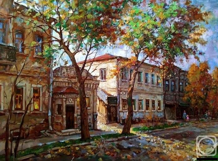 Здравствуйте! Хотел поделится своим творчеством! Пейзаж, Натюрморт, Длиннопост, Картина, Цветы, Город, Море, Улица, Городские пейзажи