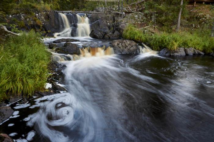 Рускеальские водопады. Карелия Рускеала, Карелия, Инь-Ян, Начинающий фотограф, Фотография