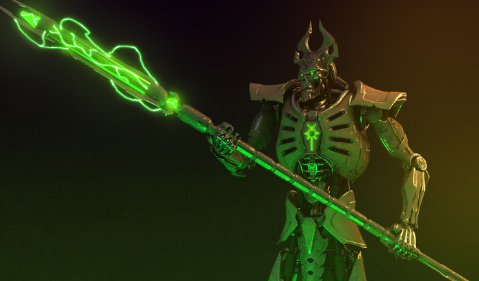 Лорд. Warhammer 40k, Wh art, Necron Lord