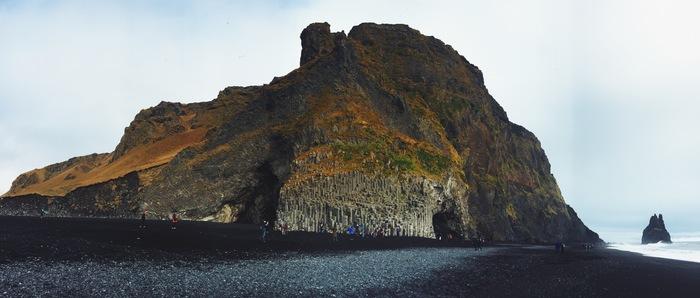 Немного октябрьской Исландии Исландия, Вик, Ледники, Водопад, Длиннопост