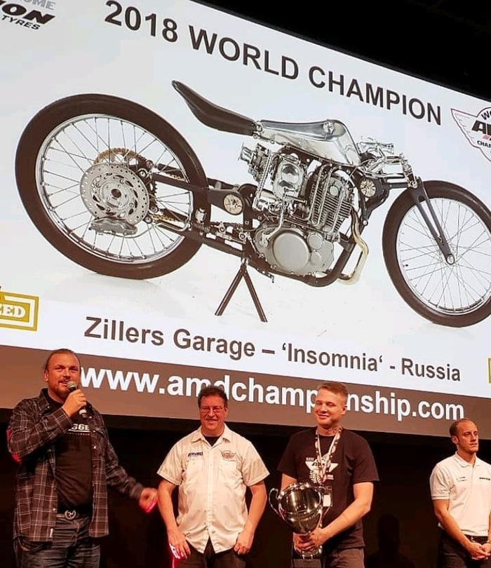 Zillers Custom (Москва) - чемпионы мира по кастмозайнгу (AMD 2018) Мото, Знай наших, Кастом, Длиннопост, Кастомизация