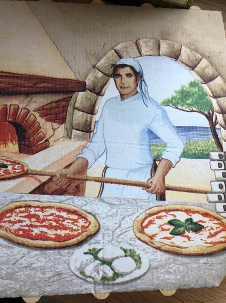 Джордж Клуни готовит пиццу? Джордж Клуни, Юмор, Актеры, От заката до рассвета, Пицца
