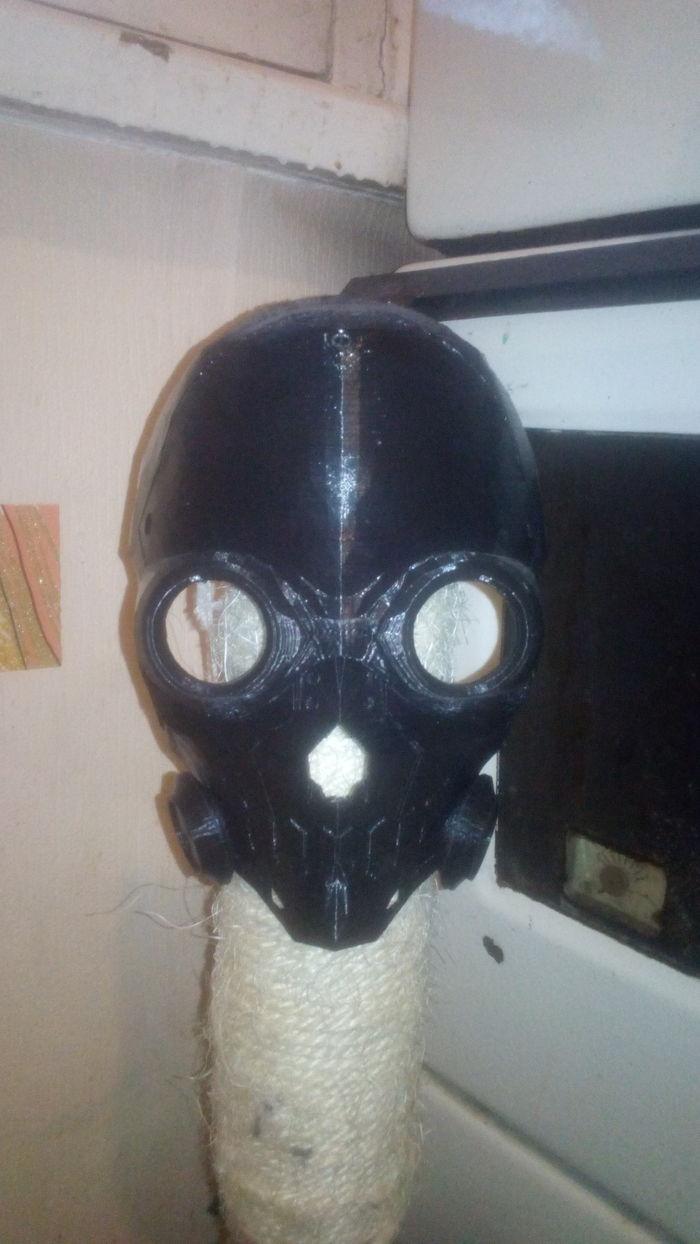 Маска Death Gun из САО. Death Gun, Аниме, 3d печать, Фото на тапок, Длиннопост