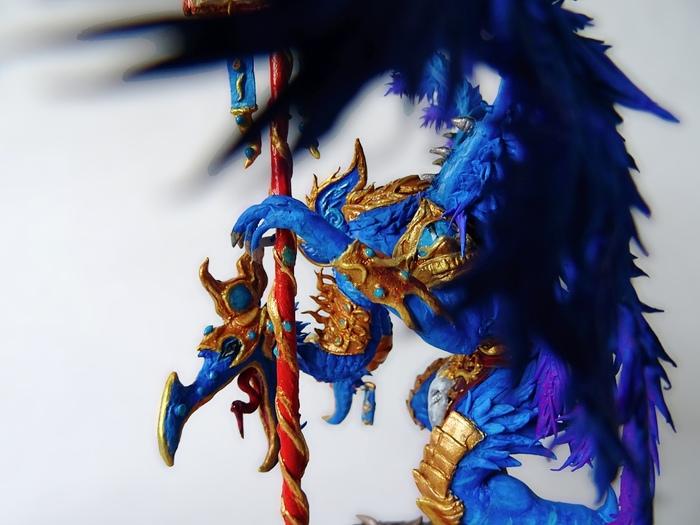 Повелитель Перемен WH Miniatures, Warhammer 40k, Хаос, Tzeentch, Ручная работа, Хобби, Длиннопост, Миниатюра