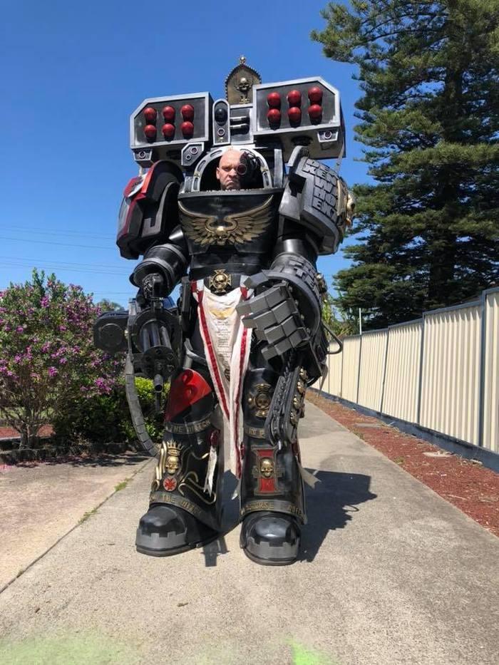 DeathwatchTerminator Warhammer 40k, Deathwatch, Black Templars, Косплей, Длиннопост