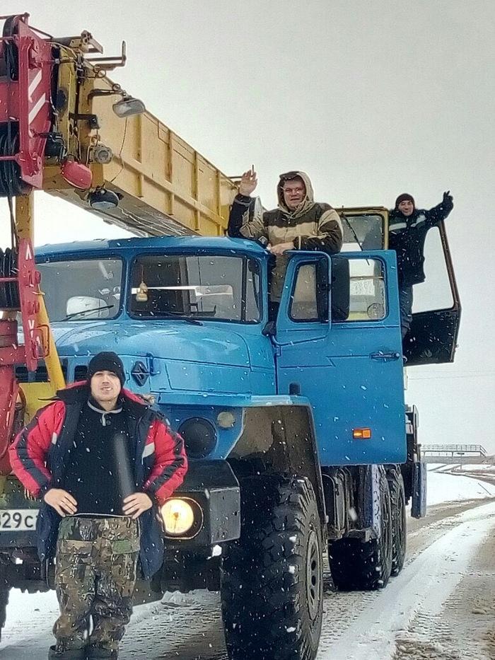 Зима наступает Снег, Север, Вахтовики, Заполярка