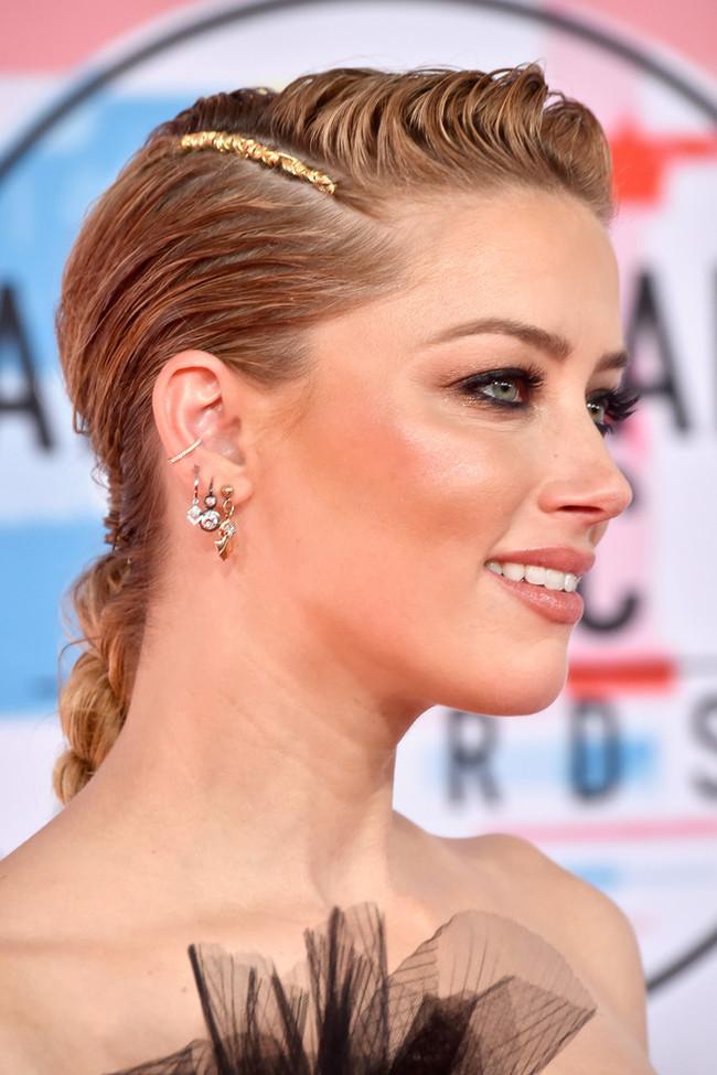 Amber Heard - 2018 American Music Awards in Los Angeles Актриса, Девушки, Длиннопост