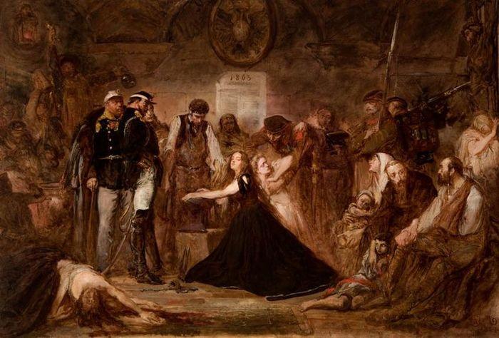 Черный протест-1861 Польша, Мода, Протест, История, Российская империя, Длиннопост