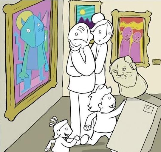 Искусство Комиксы, Lunarbaboon, Искусство