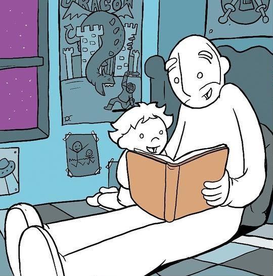 Время чтения Комиксы, Lunarbaboon, Книги