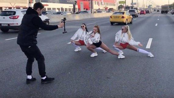 ЦОДД обратится в полицию из-за съемок клипа певицы Yaxana на МКАД Мкад, Пробки, Жена депутата, Съемки, ГИБДД, ЦОДД
