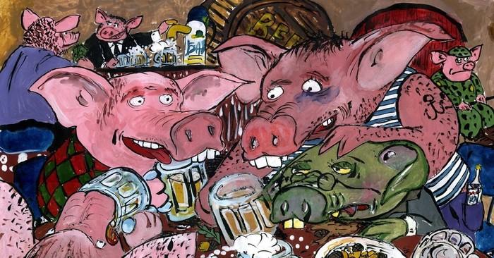 Любишь животных? Пей пиво, стань животным!!! Пятерочка, Алкоголизм, Животный мир людей, Спам, Бред, Скриншот, Длиннопост