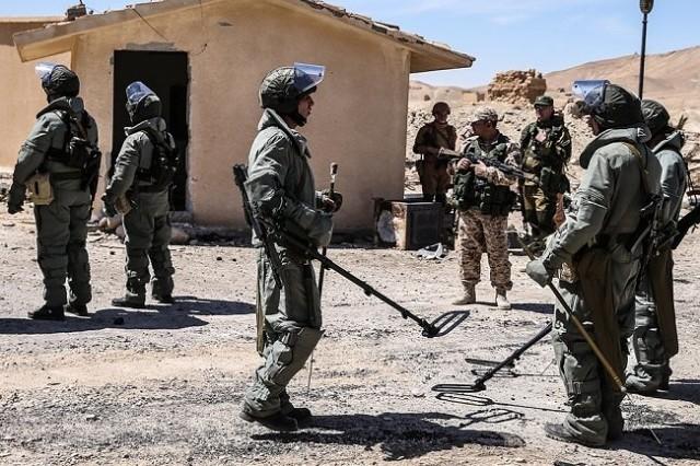 Российские саперы обезвредят американские мины в Лаосе Сапер, Армия России, Российские военные