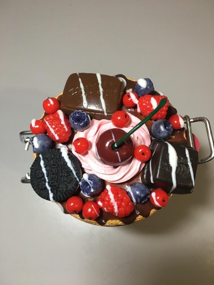 Ещё одна ягодная баночка , декор из полимерной глины ) Полимерная глина, Ручная работа, Handmade, Баночки, Декор, Длиннопост