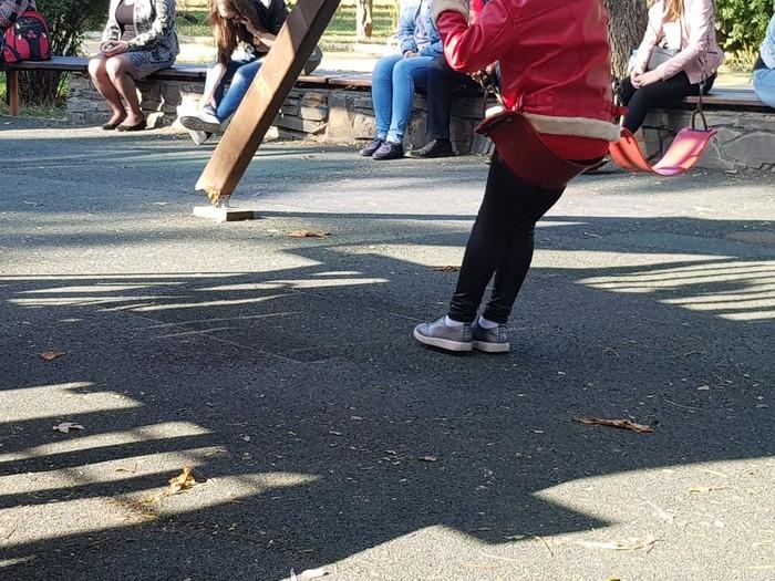 Пункт назначения: детская площадка Детство, Игровые площадки, Таганрог, Парк, Пункт назначения, Опасность