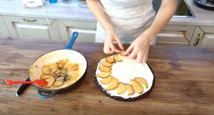 Черёмуховый пирог со сливками и грушей Черемуховый торт, Черемуховый пирог, Пирог из черемухи, Рецепт, Видео, Видео рецепт, Длиннопост