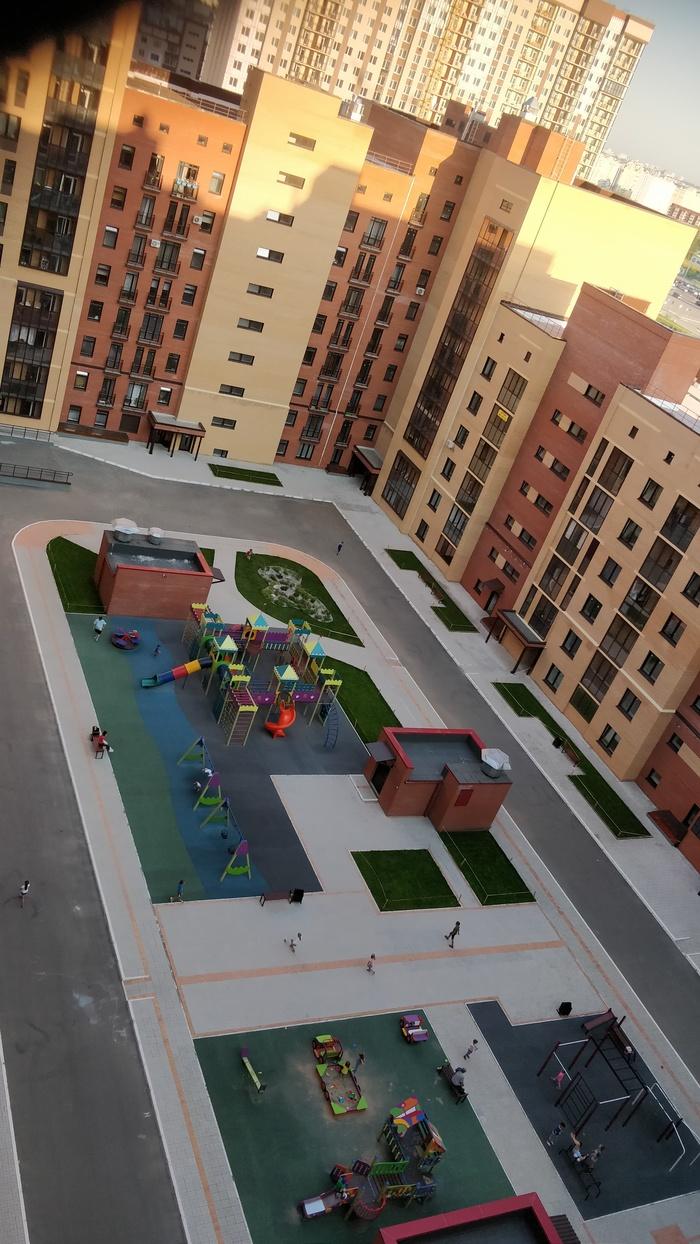 Когда позаботились о местах для парковки Парковка, Дом, Квартира, Жилой комплекс, Новосибирск, Длиннопост
