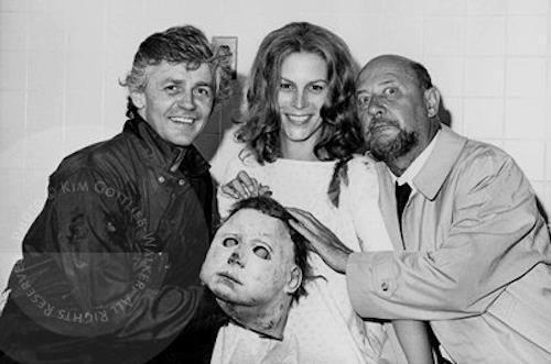 Кадры со съемок. Хэллоуин (1978), Хэллоуин-2 (1981) Фильмы, Хэллоуин, Киносъемки, За кадром, Ужасы, Длиннопост