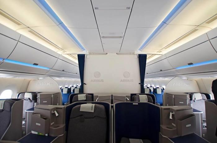 Airbus A350-900 Airbus, Авиация, Репортаж, Самолет, Авиасалон, Длиннопост