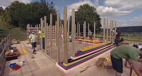 Дом сделанный полностью из кирпичиков Лего LEGO, Дом, Строительство, Кирпичи, Инженер, Top Gear, Дизайнер, Длиннопост