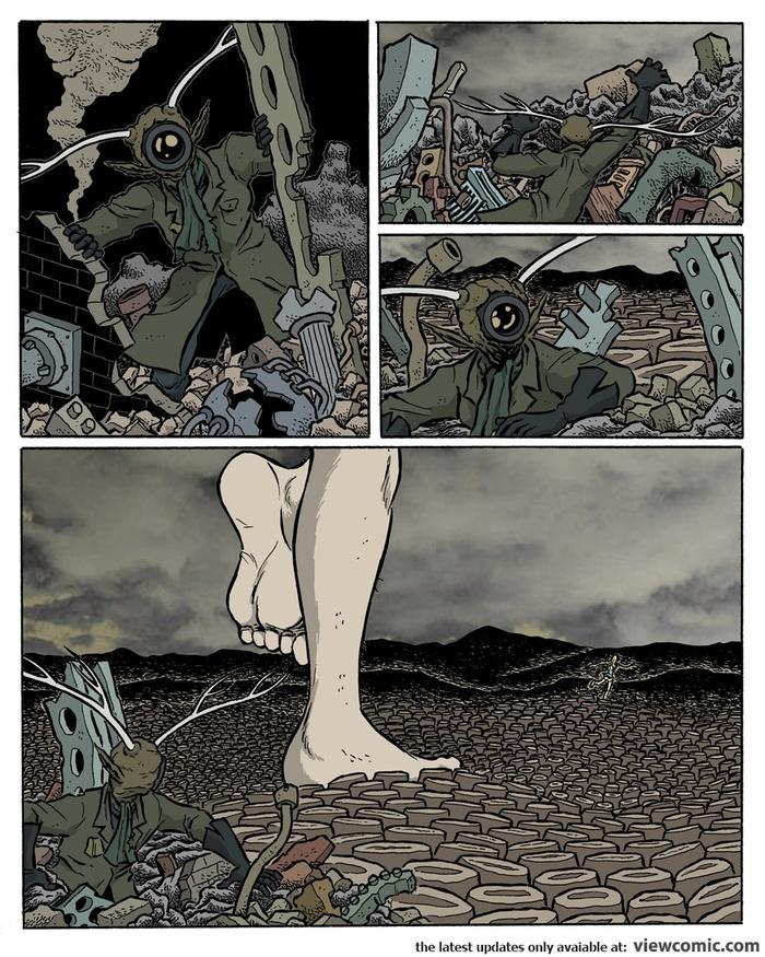Cochlea & Eustachia #4 Cochlea & Eustachia, Комиксы, Длиннопост, Сюрреализм, Перевод