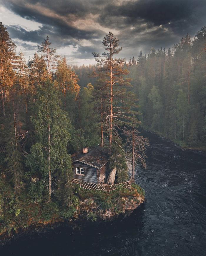 Летнее убежище в восточной Финляндии