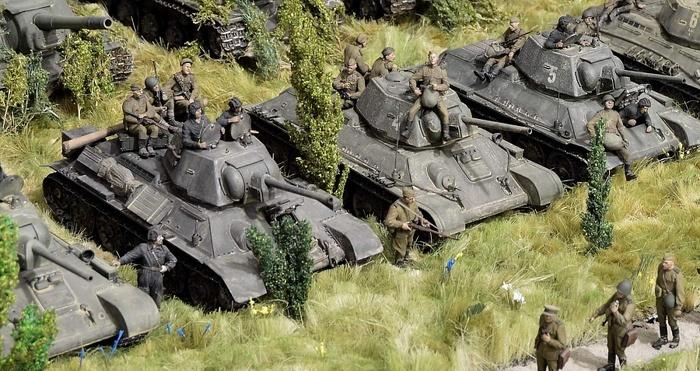 Противостояние Моделизм, Стендовый моделизм, Великая Отечественная война, Длиннопост
